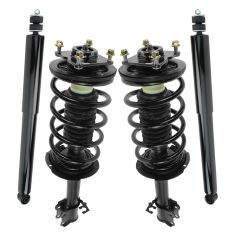 08-12 Escape; 08-11 Tribute; 08-11 Mariner Front Loaded Strut & Rear Shock Absorber Kit (Set of 4)