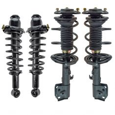 11-13 Toyota Corolla 1.8L Front & Rear Strut & Spring Assembly Kit (Set of 4)
