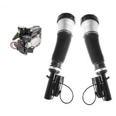 06 MB S350; 00-06 S430; S55AMG; 01-06 S600 (w/o ABC) Air Ride Comp w/Front Air Strut Kit (3 Pce Set)