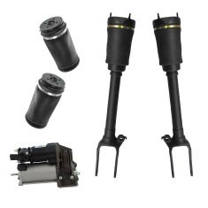 07-12 MB GL-Class (w/o ADS) Air Ride Compressor w/Front & Rear Air Spring Kit (5 Piece Set)