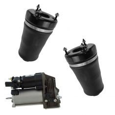 07-12 MB GL-series; 06-11 ML-series Air Ride Compressor w/Front Air Spring Kit (3 Piece Set)