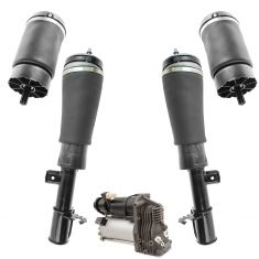 03-11 Land Rover Range Rover Air Ride Comp w/Front Air Shocks & Rear Air Springs Kit (5 Piece Set)