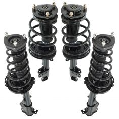 08-10 Toyota Highlander (exc Hybrid, Sport) AWD Front & Rear Strut & Spring Assembly Kit 4pc