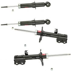 09-13 Corolla; Matrix; 09-10 Vibe Front & Rear Shock Absorber Set of 4 Excel-G (KYB)