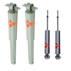 68-91 Buick Olds Pontiac Front & Rear Shock Absorber Kit (4pc) (KYB Excel-G)