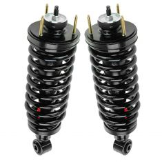 03-11 Crown Vic, Gr Marquis, Towncar (exc Com Ch) Front Shock & Spring Assy PAIR (Monroe Quick)