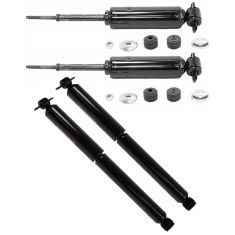 94-05 Chevy, GMC, Isuzu Pickup, SUV 2WD (exc RPO ZQ8) Front/Rear Shock Kit (Set of 4)(Monroe Sensa)