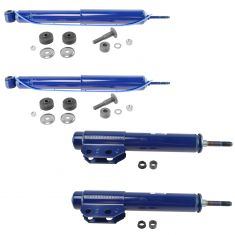 78-86 Ford, Merc FS; 79-86 Capri; 79-93 Mstng Ft Strut & Rr Shock Kit (Set of 4) (Monroe Matic-Plus)