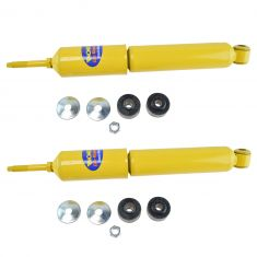 92-16 Ford E350; 96-15 E450 Front Heavy Duty Shock Absorber Pair (Monroe Gas Magnum)