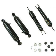 00-06 GM FS SUV 1500; 02-06 Avalnche 1500 Electronic to Passive Suspension Shock Conversion Kit (MN)