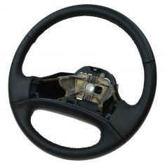 92-96 F150 (exc Lghtning), Bronco; 92-97 F250, F350, FS Van Non Aibag Leather Steering Wheel (Ford)