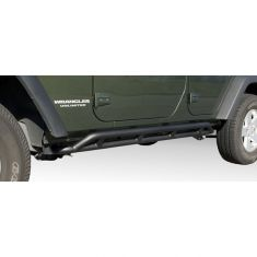 RRC Rocker Guards, Black, 07-14 Jeep Wrangler Unlimited (JK)