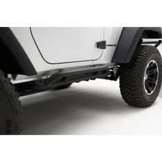 RRC Rocker Guards, Black, 07-14 Jeep Wrangler (JK)