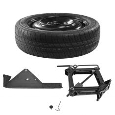 09-14 Ford Mustang (w/17 or 18 Inch Wheel) Spare Wheel Tire Kit w/Jack & Lug Wrench Set (Ford)