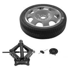 2015 Mustang (exc GT Perf Pkg or 20 Inch Wheels) Spare Wheel Tire Kit w/Jack & Lug Wrench Set (Ford)