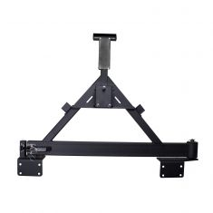 Tire Carrier, XHD Rear Bumper, 07-14 Jeep Wrangler (JK)