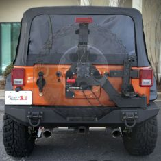 XHD Gen II Swing and Lock Tire Carrier, 07-14 Jeep Wrangler (JK)