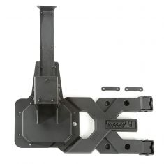 07-18 Jeep Wrangler (JK) ~Spartacus~ HD Spare Tire Carrier Kit (Rugged Ridge)