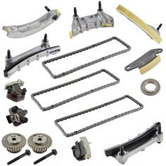 07-13 GM Multifit V6 2.8L, 3.0L, 3.6L Timing Chain & Component Kit
