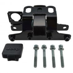 05-10 Jeep Grand Cherokee Class 3 Trailer Receiver Tow Hitch w/Hole Cover & Instllation Kit (Mopar)
