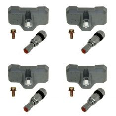Tire Pressure Monitor Sensor Assembly SET of 4