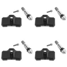 08-14 Chrysler; 12-14 Fiat; 03-14 Mercedes Benz Multifit Direct-Fit Tire Pressure Monitor Sensor Set