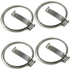 06-10 Ford, Lincoln, Mercury; 07-09 Mazda Multifit Tire Pressure Monitor Sensor Band Kit (Set of 4)