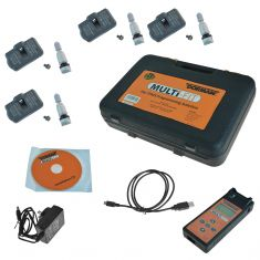 Dorman 974-301 MULTi-FIT Tire Pressure Monitoring Sensor Set of 4 TPMS 315 Mhz