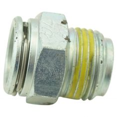 96-06 GM Multifit Transmission Line Connector w/ 3/8 Tube x 5/8-18In. Thread (DM)