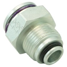 96-06 GM Multifit Oil Cooler Line Quick Connector (0.5 in Tube Size x M20-1.5-6g Thread) (Dorman)