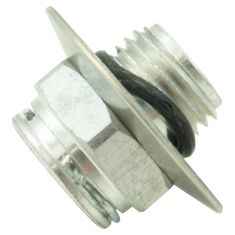 98-12 GM; 05-09 Saab Rad Side; AT Oil Coler Line Conector w/Bevel (1/2 In Tube x 9/16-18UNF Th) (DM)
