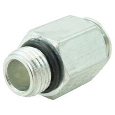 04-11 GM Multifit AT Line Quick Connector, AT Side -long Fitting (3/8 In Tube x 9/16-18UNF Thd) (DM)