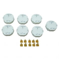 02-09 GM Full & Mid Size SUV, PU; 05 Saab 9-7X w/6 or 7 Gage Instrument Cluster Repair Kit (Dorman)