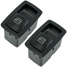 06-13 MB B, GL, ML, R Series Rear Door Single Power Window Switch Pair