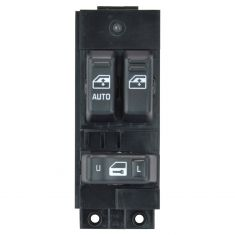 99-02 Silverado, Sierra 1500-3500 (exc Crew Cab) Black 3 Button Master Pwr Window Switch LF