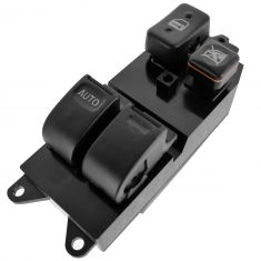 96-00 Toyota Rav4; 94-96 Camry 2 Dr.; 95-96 Tercel, 95-98 Paseo Master Power Window Switch LF