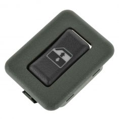 95-98 GM C/K PU; 95-99 FS SUV; 95-05 Mid Size PU, SUV Gray Rear Door Window Switch LR = RR