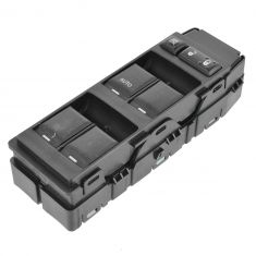 07-12 Chrysler; 07-12 Dodge; 07-10 Jeep Multifit Master Power Window Switch (w/LH Auto Up/Down) LF