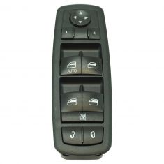08-12 Liberty; 07-12 Nitro; 09-10 Journey (w/LH One Touch Down) Power Window/ Door Lock Switch LF