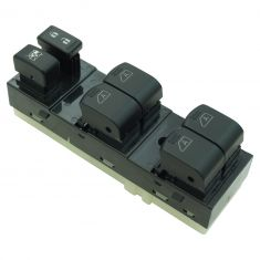 11-12 G25; 07-08 G35; 09-13 G37; 15 Q40 4DR (w/Memory) Master Power Window & Door Lock Switch LF