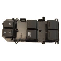 08-12 Honda Accord 4 Door Master Window Switch LH (w/ Driver Side Auto Down)