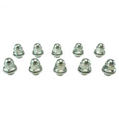 02-05 Sebring, Stratus; 09-15 Mitsubishi Multifit (M12-1.5 x 37.50mm) Chrome Lug Nut  (Box of 10)