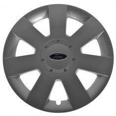 06-09 Ford Fusion 7 Spoke Painted Silver Hub Cap Wheel Cover (Ford)