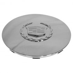 03-06 Cadillac Escalade, EXT, ESV (w/17 or 20 Inch Wheel) ~Crest~ Logoed Chrome Center Cap (GM)