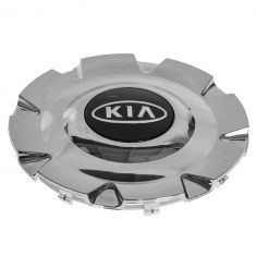 04-06 Kia Magentis, Optima (w/16 Inch, 8 Spoke AL Whl) Chrome ~KIA~ Logoed Wheel Hub Cntr Cap (Kia)