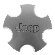 01-04 Jeep Grand Cherokee (w/Wheel Codes WFZ, WGF) Flat 5 Inch Silver Center Cap (Mopar)