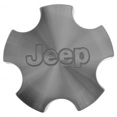 02-04 Jeep Grand Cherokee (w/17 Inch, 20 Spoke Wheel) ~Jeep~ Logoed Center Cap (Mopar)