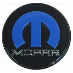 08-12 Dodge Challenger (w/20 In Heritage Whl) Blk, Blue, & Chrome ~Mopar~ Logoed Center Cap (Mopar)