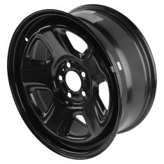 06-15 Charger, 300; 07-08 Magnum; 08-14 Challenger (18 X 7.5 In) Black Police Steel Wheel (Mopar)