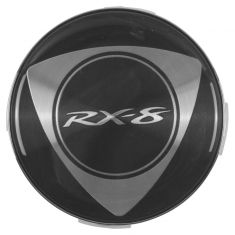 04-11 Mazda RX-8 Alloy Wheel Center Cap (w/Rotary Emblem) (Mazda)